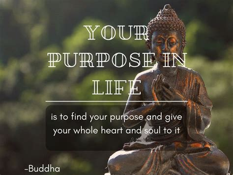 The buddha quotes on life you'll read below are a. Your purpose in life is to find your purpose and give your whole heart and soul to it. #spiritu ...