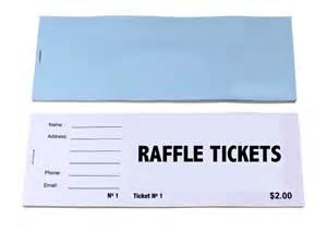 Custom Raffle Tickets