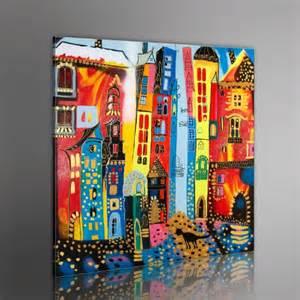 dank sprüche 100 handgemalt gemälde bilder leinwand 1 teilig abstrakt wandbilder 5059 80x80 cm