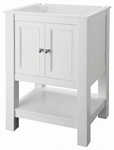 Foremost gazette 24 inch x 18 inch vanity cabinet only in for Bathroom vanities 24 inches wide