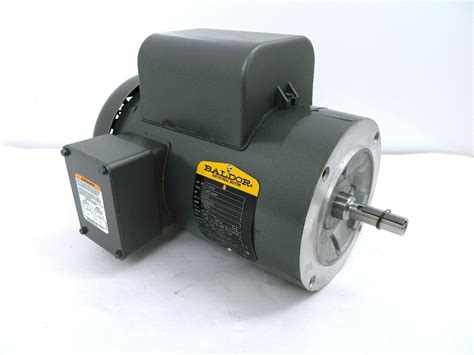 75 Hp Electric Motor by Baldor Vl3508 Electric Motor 0 75 Hp 56c Frame 1140 Rpm