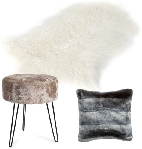 coiffeuse blanche si鑒e avec miroir inclus tapis fausse fourrure maison du monde de conception de maison