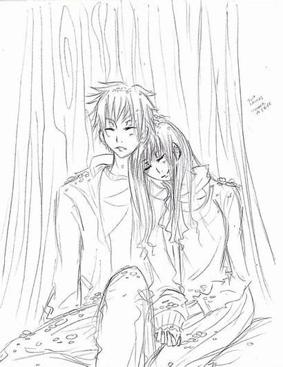 Lovers Sketch Deviantart