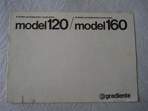 Amplificador Gradiente Model 120  160- Manual Original-