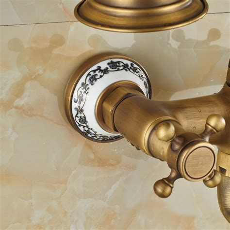 Cullasaja Antique Brass Finish Telephone Hand Shower with