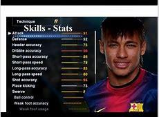 Neymar To Barcelona Skills Stats PES 2013║FULL HD