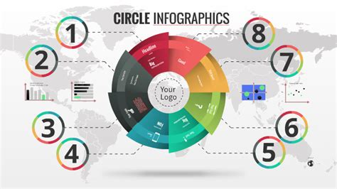 Circle infographics - Prezi template by Prezi Templates