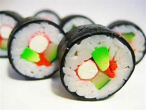 Sushi rolls by lava-tomato on DeviantArt