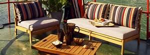 Alinea Meuble Salon : salon de jardin en bois photo 1 5 un salon de jardin en bois de chez alinea ~ Teatrodelosmanantiales.com Idées de Décoration