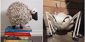 9 esculturas de papel de periódico que quisieras tener en tu casa Para Los Curiosos
