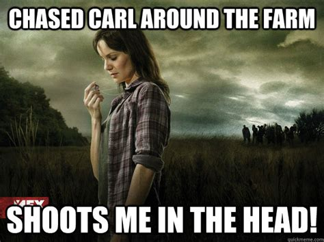Chased Carl Around The Farm Shoots Me In The Head!