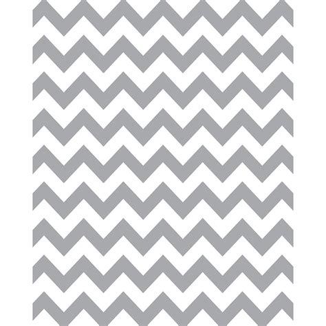 Gray & White Chevron Printed Seamless Paper  Backdrop Express