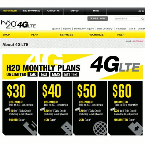 h2o wireless phone number lte now available on h2o monthly plans prepaid phone news