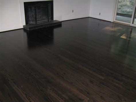 hardwood flooring stain ebony stained hardwood floors m o d f r u g a l