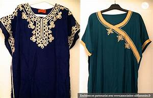 Genial robe marocaine pour maison 6 related article for Robe maison marocaine