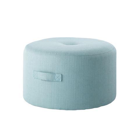 maison du monde pouf pouf en tissu bleu bor 201 al maisons du monde