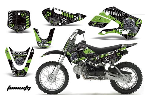 kawasaki klx 110 kx 65 00 09 np amr graphic kit tox gk creatorx graphics mx atv decals sled