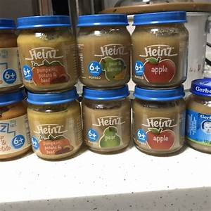 Heinz + Gerber Baby Food Jar, Food & Drinks, Instant Food ...