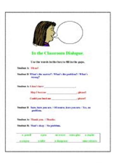 dialogue worksheet year 3 kidz activities