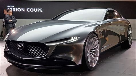 mazdas stunning vision coupe shows  brands