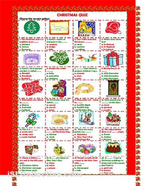 5 Best Images Of Free Printable Christmas Quizzes  Free Printable Christmas Trivia Quiz