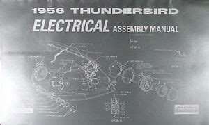thunderbird electrical assembly manual   bird