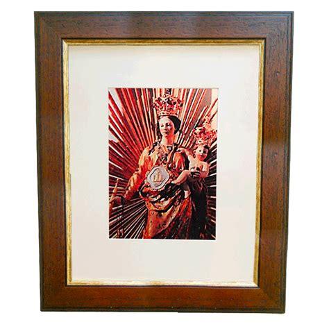 cornice arte povera cornice legno arte povera filo oro 30 mm con passe partout