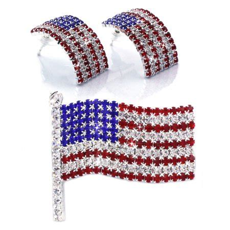 coco jewelry cocojewelry   july american flag