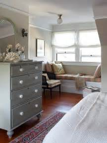 Cozy Window Seat Bedroom
