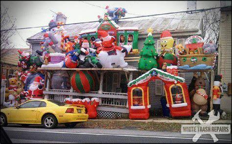 christmas overload whitetrashrepairscom