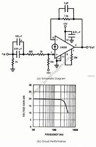 Current Mmode 20mhz Noninverting Amplifier  U2013 Simple
