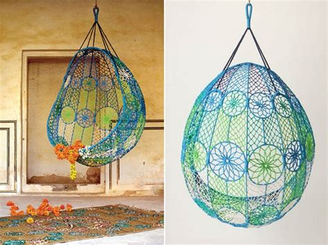 knotted melati hanging chair knotted melati hanging chair home