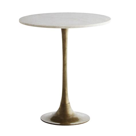 white round accent table furniture small round white drum end table with two