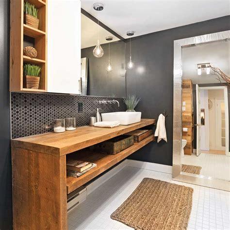 panier coulissant pour meuble de cuisine une salle de bain rustique chic salle de bain