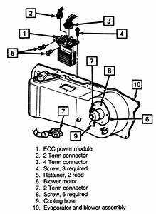2003 Cadillac Seville Heater Fan Control Wiring Diagram