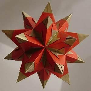 3d Sterne Aus Papier Basteln : origamipage 3d stern ~ Lizthompson.info Haus und Dekorationen