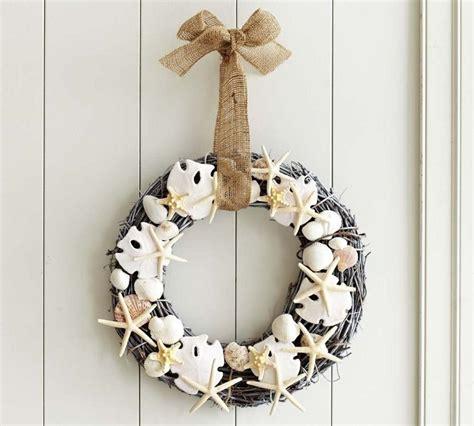 pottery barn wreath diy seashell wreath pottery barn knockoff addicted 2 diy