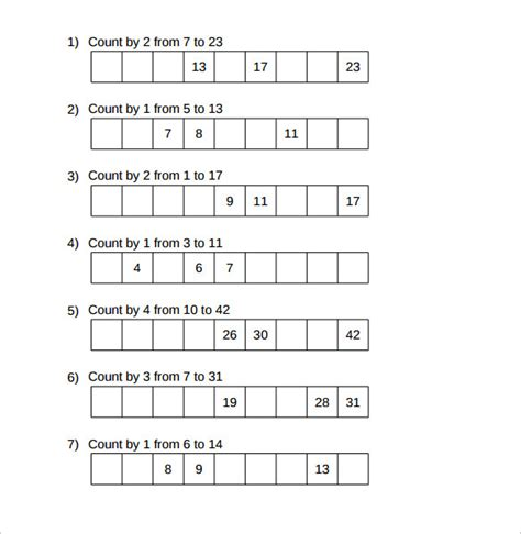 14 patterning worksheet sles sle templates