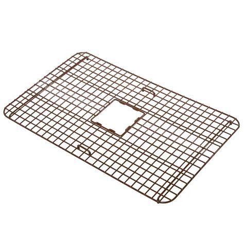 kitchen sink bottom grid sinkology wright copper kitchen sink bottom grid heavy