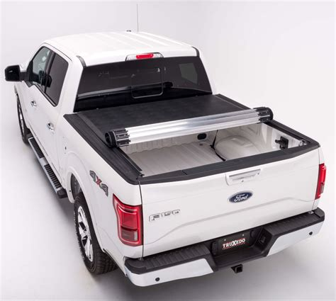 2012 Ford F 150 TruXedo Titanium Hard Tonneau Cover   Roll