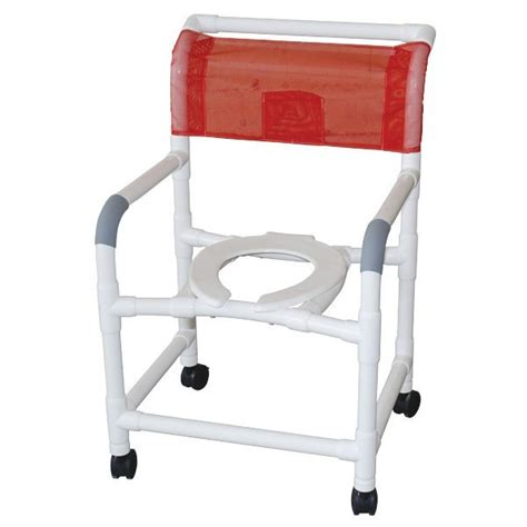 Pvc Commode Chair by 22 Quot Pvc Shower Commode Chair Standard Open Front Seat