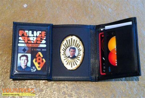 blade runner police id wallet replica  prop