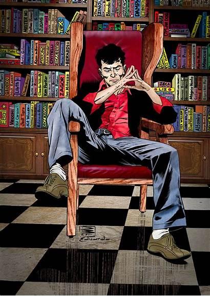 Dylan Dog Portrait Comics Comic Colorido Eduardo