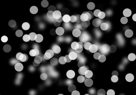 and white lights bokeh out of focus black white background light