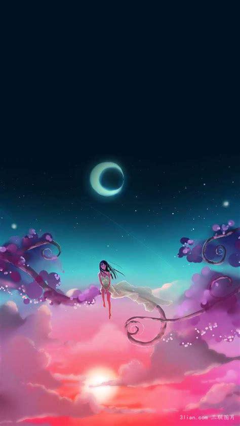梦幻夕阳风景图片