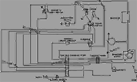 Wiring Diagram Wheel Dozer Caterpillar Tractor