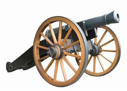 Cannon Clipart War Civil Antique Weapon Clip