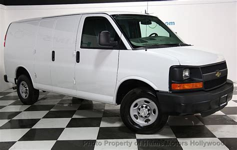 "2015 Used Chevrolet Express Cargo Van Rwd 2500 135"" At"