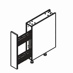 Meuble Largeur 15 Cm : meuble bas 15 cm range pices castorama ~ Teatrodelosmanantiales.com Idées de Décoration