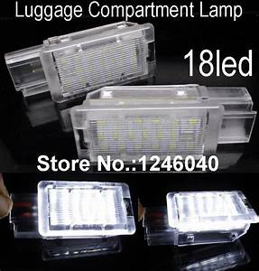 18led Luggage Compartment Lamp Trunk Light For Chevrolet Camaro Cruze Aveo T300 Corvette Equinox